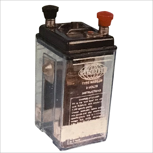2 Volts Battery For School & College Laboratories
