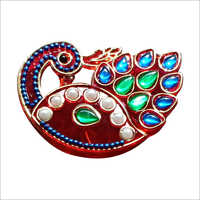 Colored Acrylic Kumkum Box