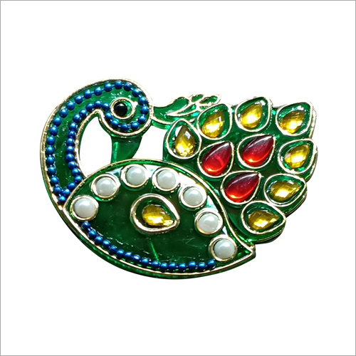 Peacock Shape Kumkum Box