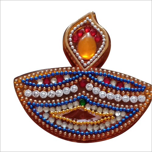 Diya Shape Kumkum Box