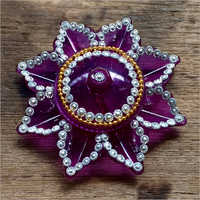 Flower Shape Kumkum Box