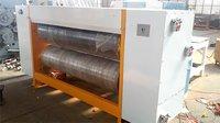 Chain Feeding Corrugated Rotary Die Cutting Machine Slitting Creasing Corner Cutter