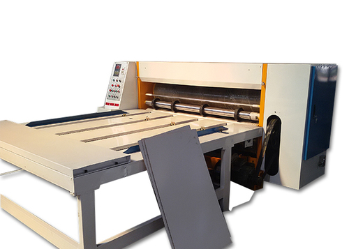 Chain Feeding Rotary Die Cutting Machine For Corrugated Paperboard Carton Box