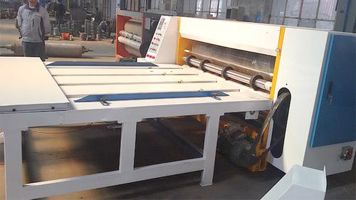 Semi Auto Chain Feeding Rotary Die Cutting Machine Electric Driven Type