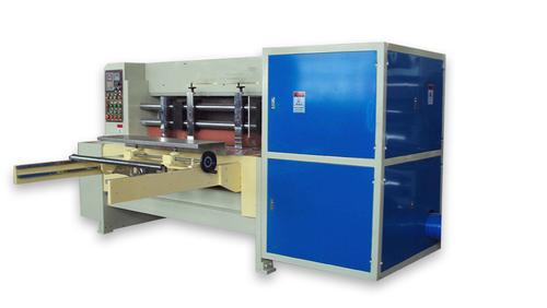 Economy Type Corrugated Rotary Die Cutting Machine 80 - 100 Pcs/Min CE Certificated