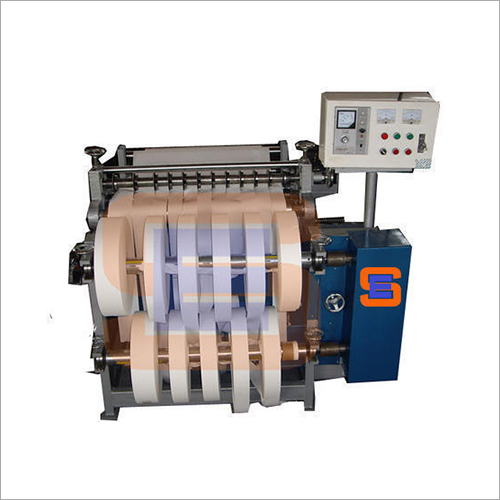Label Slitting Rewinder Machine