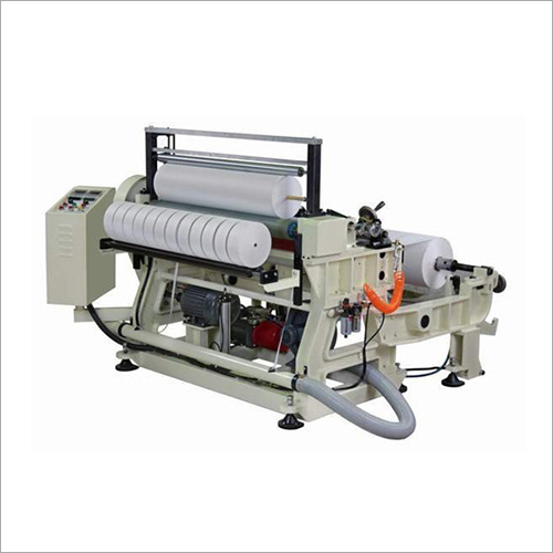 Cloth Slitting Rewinder Machine