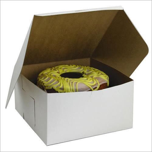 Plain Food Packaging Box