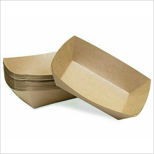 Disposable Paper Food Tray