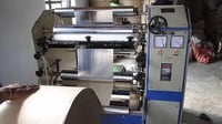 Automatic Silver Craft Roll to Roll Lamination + Sliter Making Machine