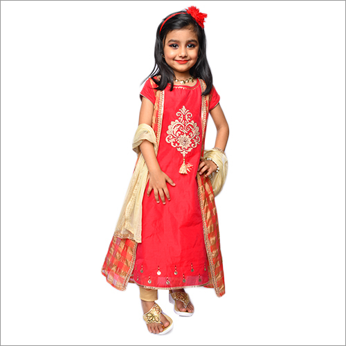 Kids Ethnic And Party Wear Dress