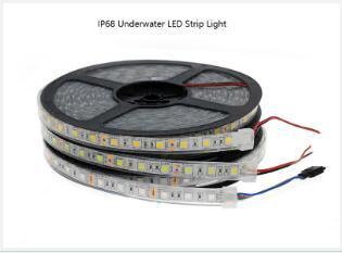 LED Strip Light waterproof IP68 RGB 5050 12v for underwater swimming pool lights