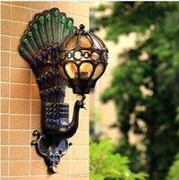 Creative outdoor waterproof  European Classical wall lamp for living room Garden Garden Villa interior decoration LED wall lamps