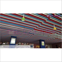 Z Shaped Screen Ceiling System