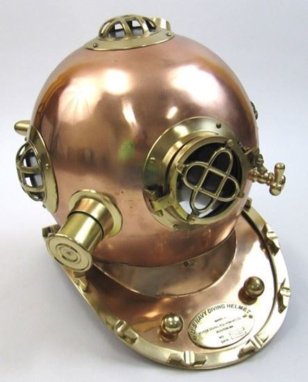 Copper Divers Helmet Mark Five