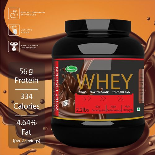 Whey Protein with Chocolate Flavor