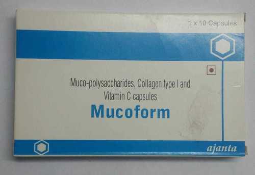 MUCO-POLYSACCHARIDES COLLAGEN TYPE I VITAMIN C