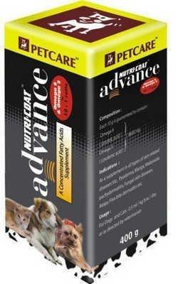 NUTRICOAT ADVANCE 400ML-OMEGA3 6600MG+OMEGA6 6600MG+LI