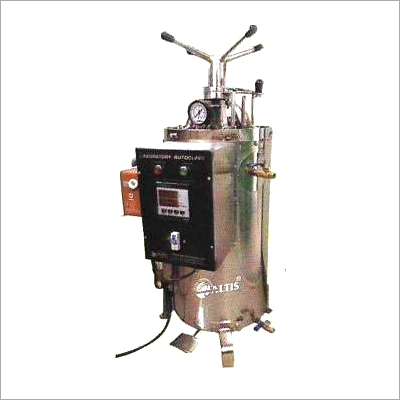 Autoclave Vertical (Supplied With SS Basket) Deluxe Model