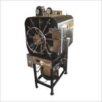 Horizontal High Pressure Rectangular Steam Sterilizer