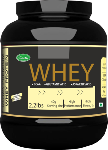 Whey Protein with Vanilla Flavour