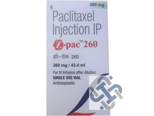 Z Pac Paclitaxel 260mg Injection