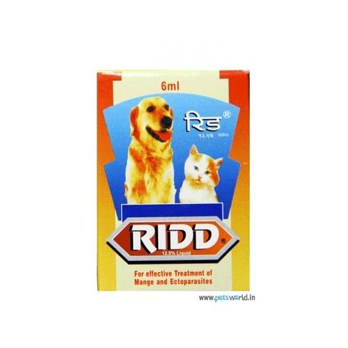 RIDD 6ML-AMITRAZ 12.5%