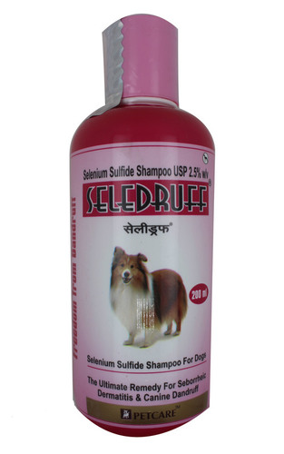 Seledruff Anti-Dandruff Shampoo For Dog 200ml-SELENIUM SULFIDE 2.5%W/V