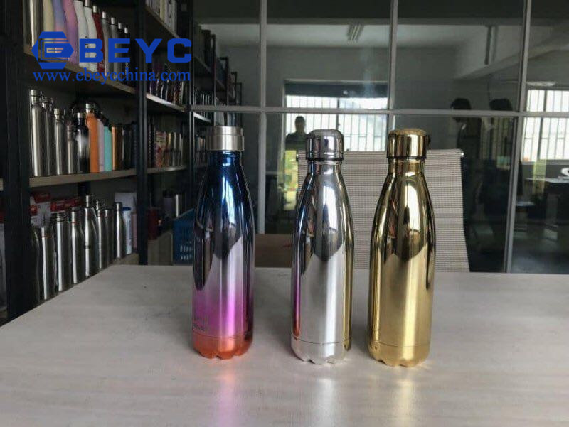 Electroplating Dazzling Porcelain Insulation Cup