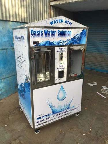 Coin & Note Acceptor Water ATM machine