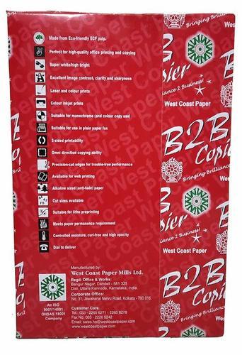 B2B A3 Copier Paper 70 GSM