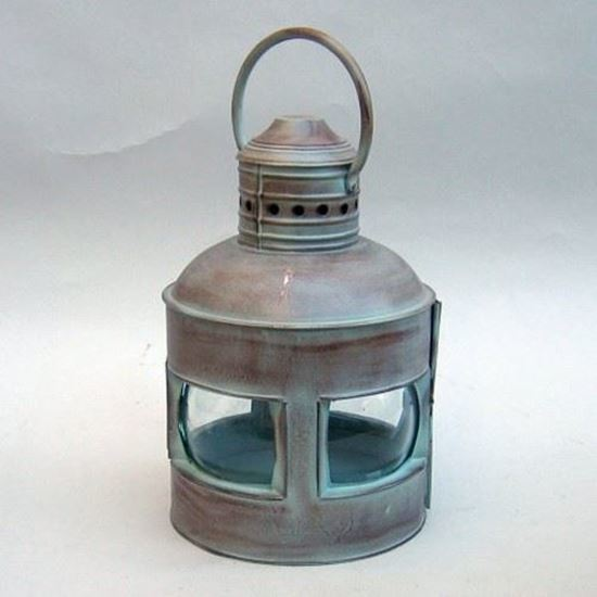 Lantern Rounded 4 Side Antique