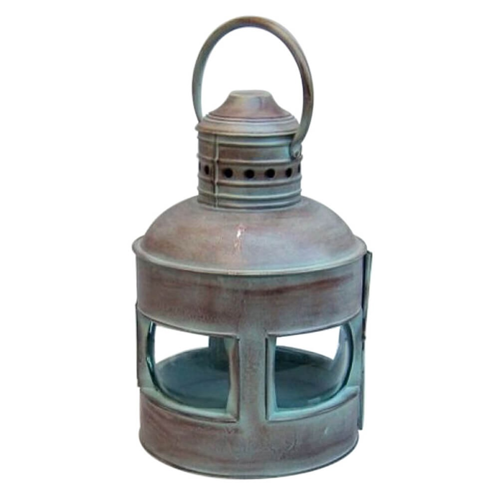 Lantern Rounded 4 Side Antique