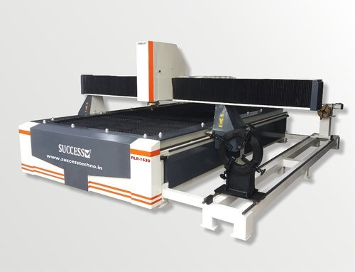 CNC Plasma Cutting Machine with Rotary Attachment
