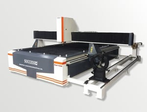 CNC Plasma Cutting Machine with Rotary Attachment