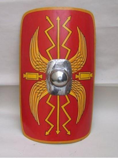 Roman Red Shield