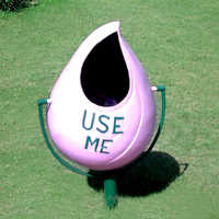 Garden Plastic Dustbins