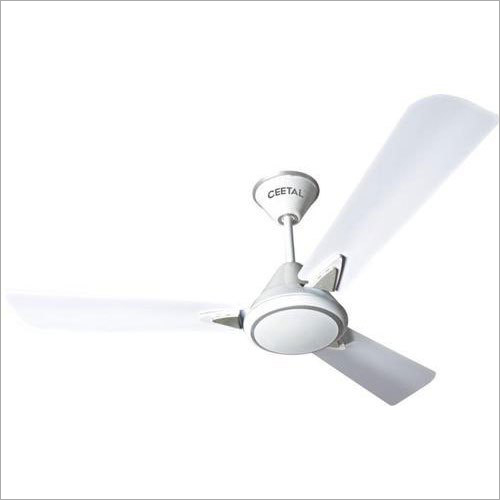 White Electric Ceiling Fan