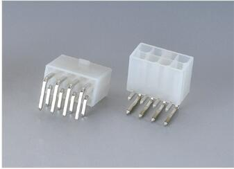 YWMF420 Series   Wire-to-Board connector  Pitch:4.20mm(.165″)   Dual Row  Side Entry  DIP Type  Wire Range:AWG 14-26
