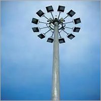 12.5m High Mast Pole