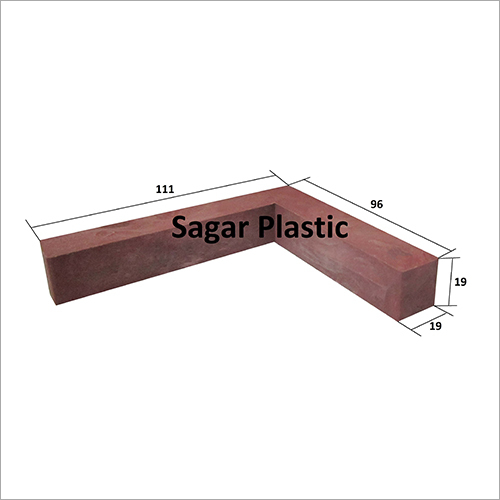 4 X 4 PVC Door Chokat L Type Bracket