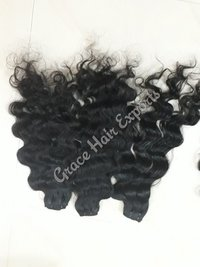 Deep Wavy Double Weft Hair Extensions