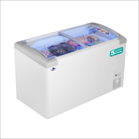 Electric Glass Top Freezer