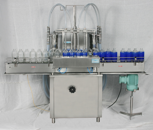 Syrup bottle filling machine