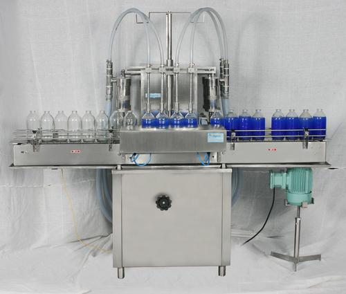 Syrup bottle filling machine