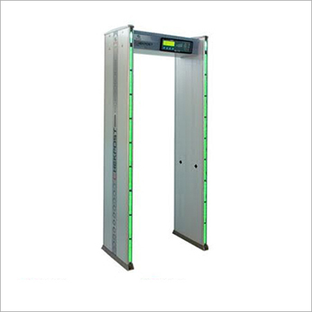 Nine Zone Door Frame Metal Detector