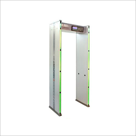 Four Zone Door Frame Metal Detector