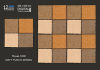 Matt Punch Vitrified Tiles