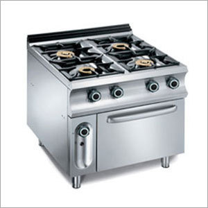 Four Burner Range With Oven