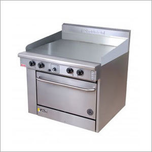 Griddle Plate With Oven (Gas-Electric)